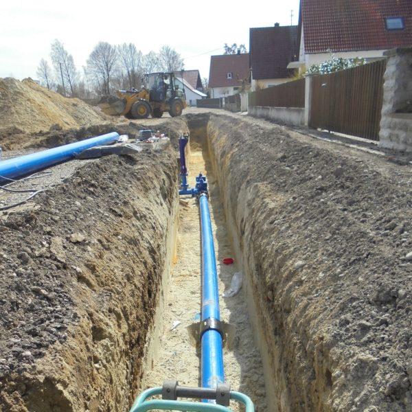 Trinkwasserleitung aus PE-100