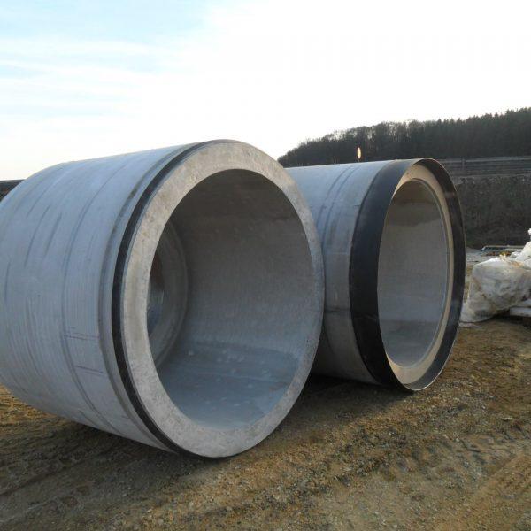 Stahlbetonmantelrohre