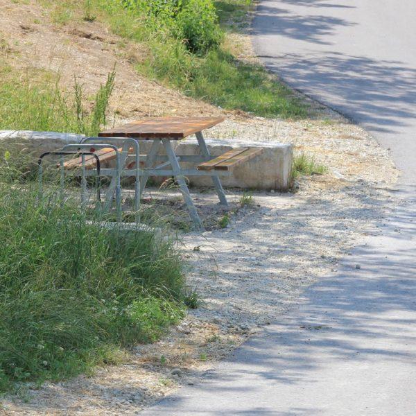 Fahrrad-Rastplatz