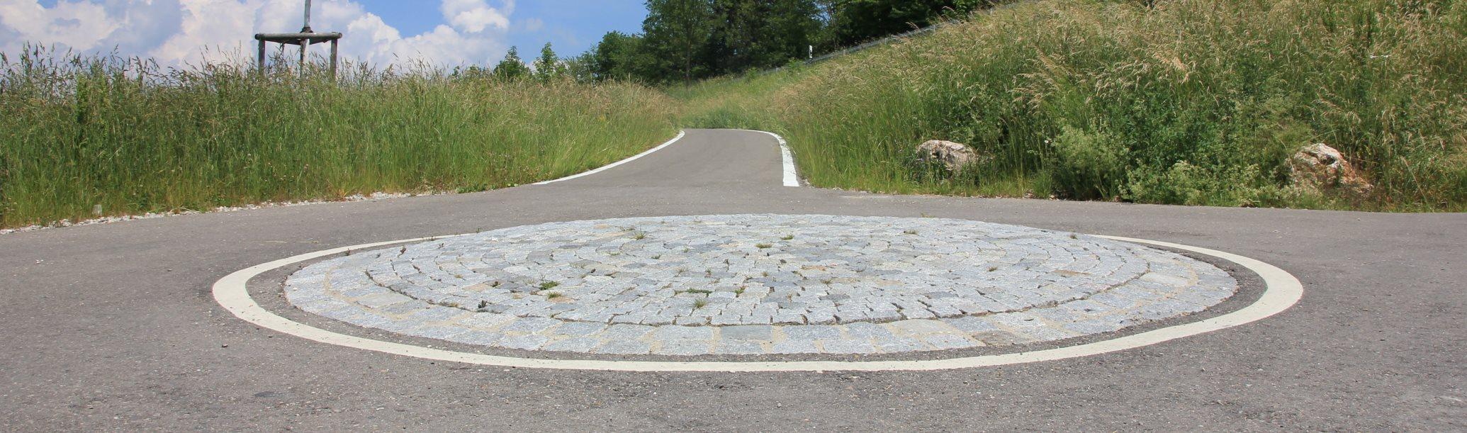 Fahrrad Kreisverkehr