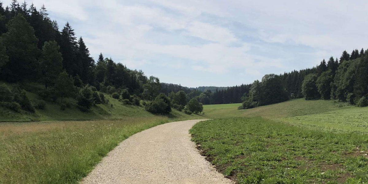 Fertiger Weg